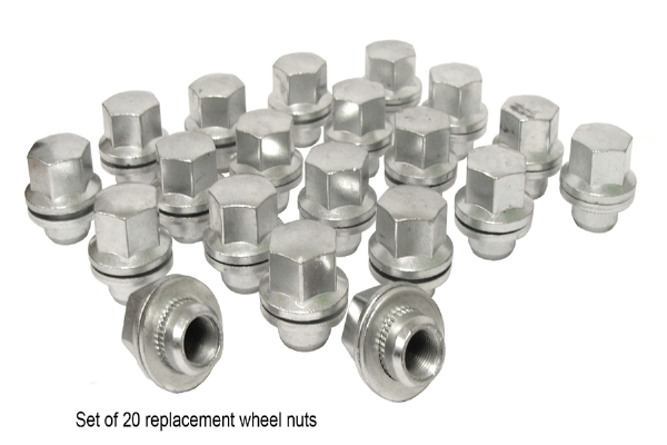 Replacement Wheel Nuts - Early Models